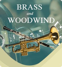 brass woodwind musical instrument rentals
